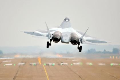 Истребитель Су-57 вооружат авиабомбой «Дрель»