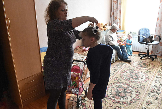Даша Сейфулина и ее мама
