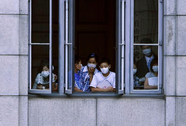 В стрессе японцы живут с самого детства