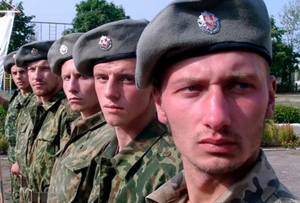 Члены радикальной националистической организации «Белый легион»