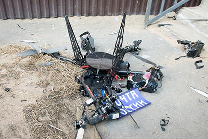 В сети рассказали о «суициде» дрона «Почты России»