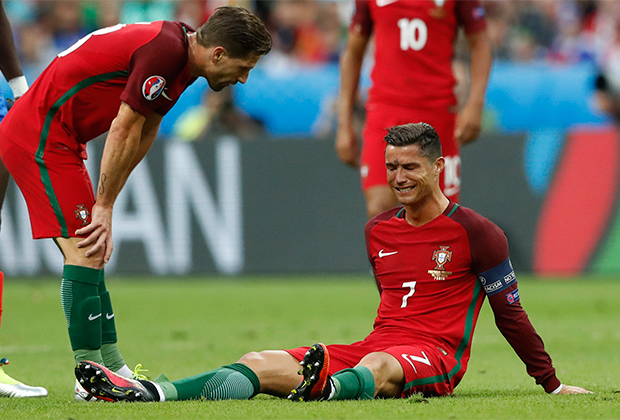 Роналду в сборной Португалии