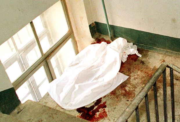 Место убийства Галины Старовойтовой