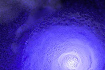В космосе нашли древний гигантский ураган