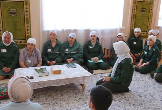 Молельная комната в женской колонии Чувашии