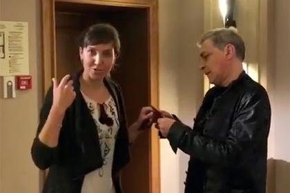 Светлана Махохей и Александр Невзоров