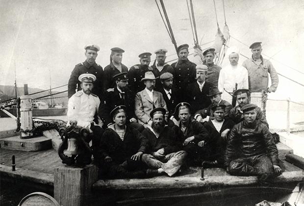 Участники экспедиции Толля