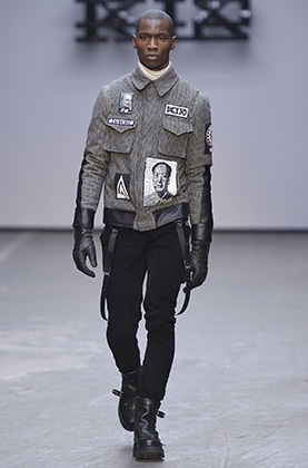 Куртка с изображением Мао Дзэдуна, KTZ