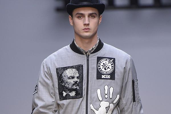 Куртка с изображением Ленина, KTZ