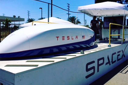 Илон Маск анонсировал новые возможности скоростного транспорта Hyperloop