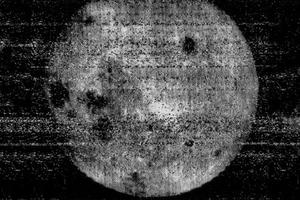 Советский снимок обратной стороны Луны