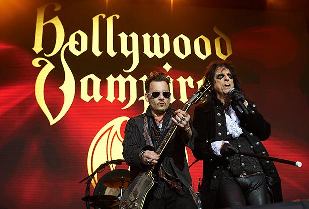 «Голливудские вампиры» снова в деле: Джонни Депп и Элис Купер