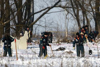 Неубранные с поля останки жертв крушения Ан-148 объяснили сугробами