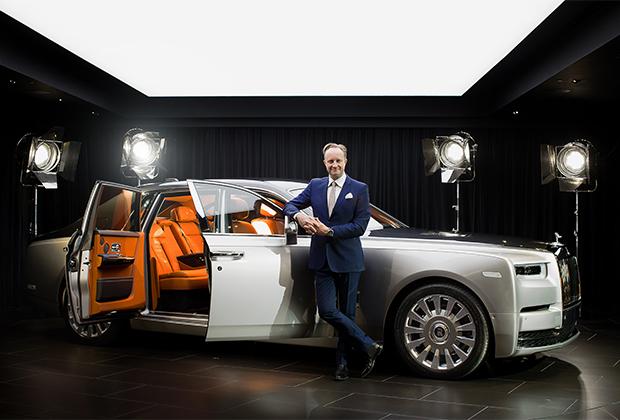 Джайлз Тейлор и Rolls-Royce Phantom
