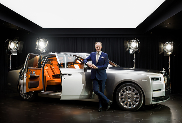 Джайлз Тейлор и Rolls-Royce Phantom