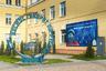 «Дворик Гагарина» открыли в Волгограде 12 апреля 2016 года — в честь 55-летия первого полета человека в космос. Во дворике рядом с лицеем им. Гагарина установлен памятный знак «Космос говорит по-русски».