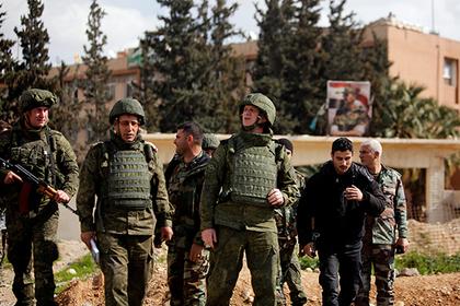 В сирийской Думе заработала российская военная полиция