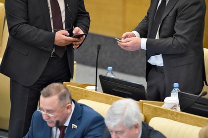 В государственной думе поддержали законодательный проект против фейков вweb-сети
