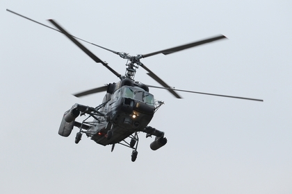 Потерпевший крушение в Балтийском море вертолет отрабатывал посадку на борт большого десантного корабля
