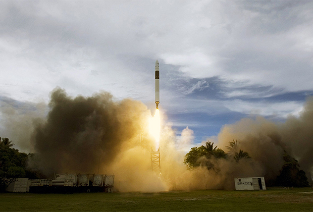 Пуск ракеты Falcon 1