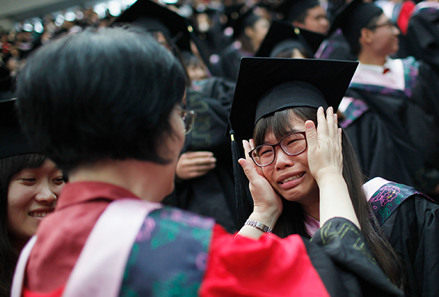 Выпускница Фуданьского университета