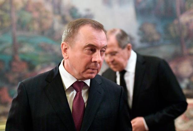 Владимир Макей (на первом плане) и Сергей Лавров