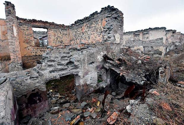 Последствия военного конфликта между Грузией и Южной Осетией в августе 2008 года