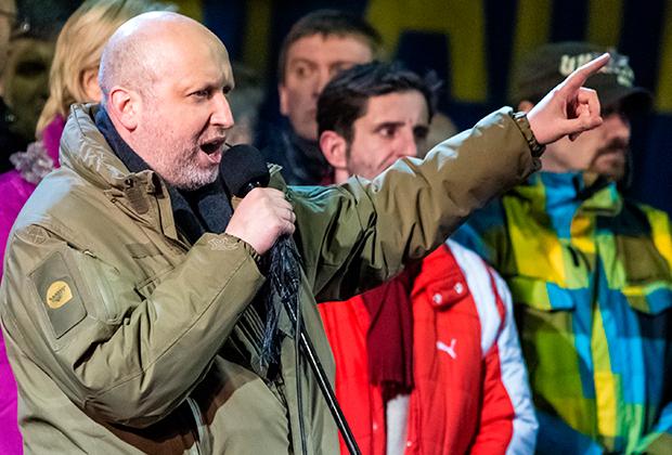 Спикер Верховной Рады, исполняющий обязанности президента Украины Александр Турчинов