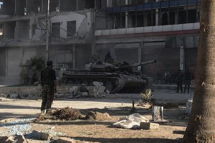 Сирийская армия обнаружила химическую лабораторию боевиков