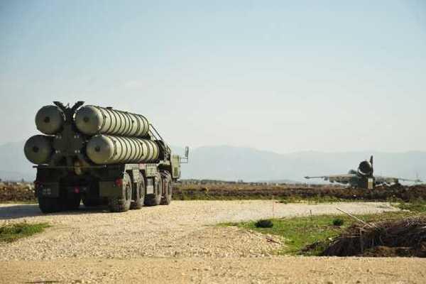Комплекс С-400 в Сирии