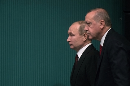 Путин и Эрдоган договорились о действиях по Сирии