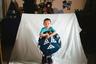 Мальчик с бубном— традиционным музыкальным инструментом ненцев.