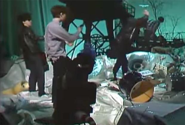 Выступление The Jesus and Mary Chain на бельгийском телевидении, 1985 год