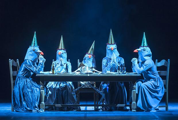 Спектакль «Бельгийские правила» московского театрального фестиваля «Территория»