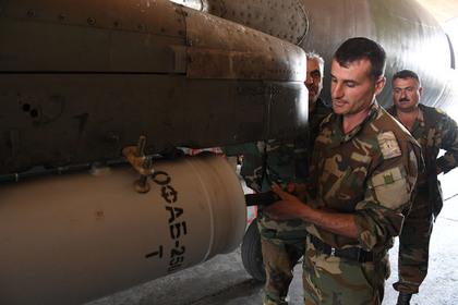Российские военные опровергли сообщения об обстреле сирийской авиабазы
