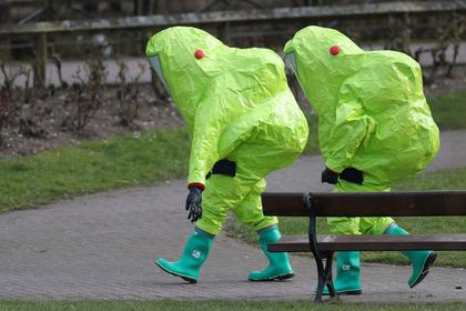 Россия обвинила Британию в уничтожении улик под видом «дезинфекции» в Солсбери