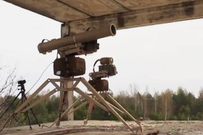 Украина испытала ПТРК «Скиф»