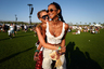 Ангелы Victoria's Secret Лаис Рибейро и Роми Стрейд веселятся на фестивале.