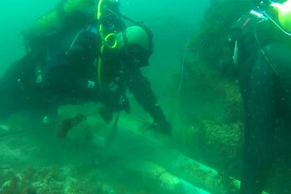 Под Севастополем нашли подводный схрон времен войны