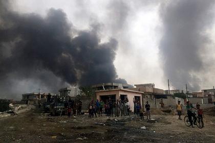 Ирак начал бомбить Сирию