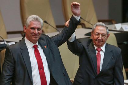 США остались недовольны новым руководителем Кубы