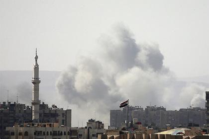 Два человека погибли идевять ранены при обстреле жилых кварталов Дамаска