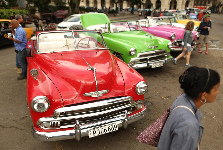 После прихода к власти Рауля все меньше американских автораритетов стало ездить по улицам, и все больше их заменяют современные европейские машины.