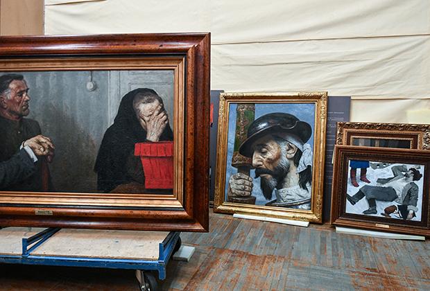 Картины художника Гелия Коржева