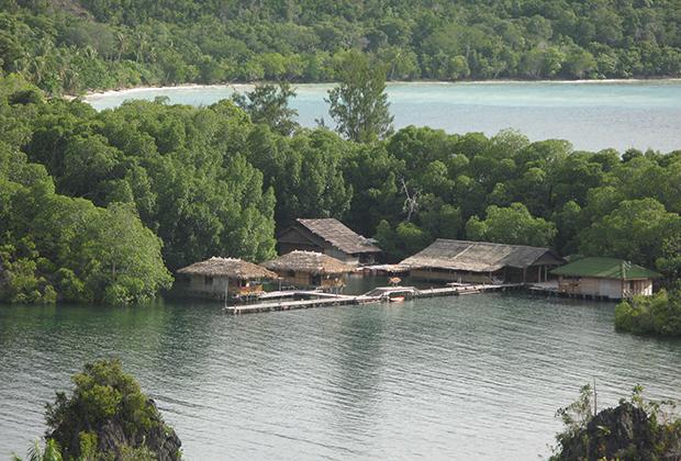 Ресорта для богатых туристов на острове Fam