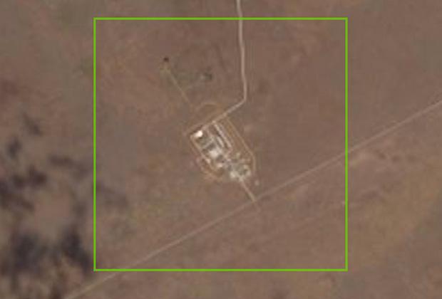 Испытательный комплекс на полигоне Капустин Яр
