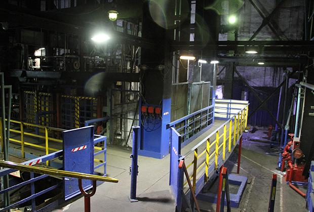Из материалов уголовного дела: вентиляционный ствол шахты «Северная», вид изнутри