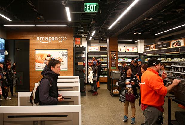 Автоматизированный супермаркет Amazon