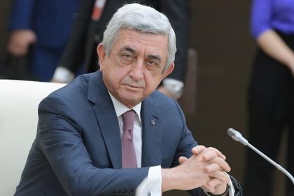 Саргсян согласился покинуть свой пост после решения важных проблем