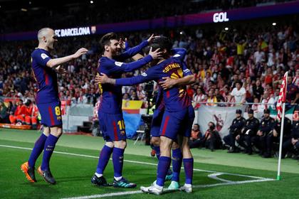«Барселона» 30-й раз выиграла Кубок Испании